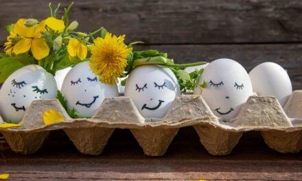 Op eieren lopen en een Paasontbijt to go